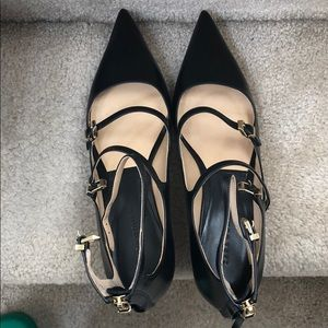 Zara new never used rare to find pointed shoes